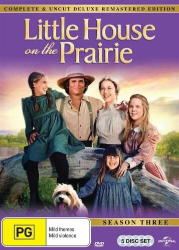 1 of 1 - Little House On The Prairie : Season 3 (DVD, 2015, 5-Disc Set) - Region 4