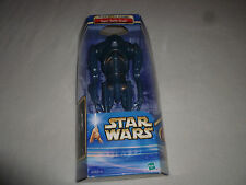 "NEW IN BOX STAR WARS ATTACK OF THE CLONES SUPER BATTLE DROID 12"" FIGURE HASBRO >"