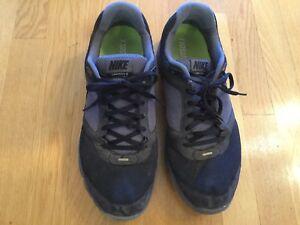 d22a928df9e8c Nike Lunarfly 2 Lunarlon Mens Size 12 Black Running Shoes 452419-007 ...