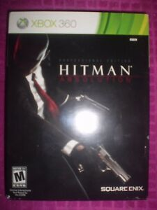 Hitman Absolution Professional Edition Xbox 360 Game Discs Are Mint 662248912431 Ebay