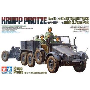 Tamiya-35259-Krupp-Protze-1-ton-6x4-Kfz-69-Towing-Truck-with-3-7cm-Pak-1-35