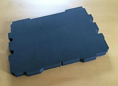 Valise de dépôt mousse FESTOOL SORTAINER SYS 4tl-sort//3 gris bleu 30 mm 3 pièce