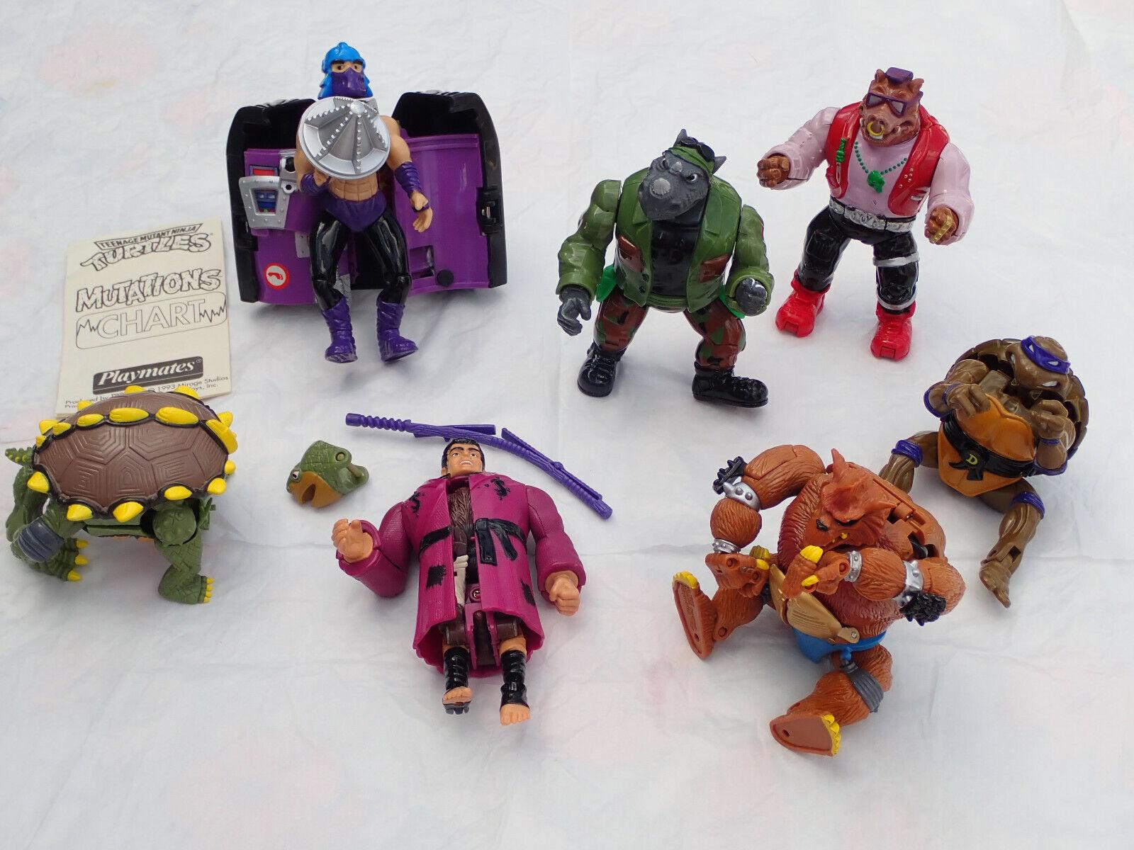7 Teenage Mutant Ninja Turtles Mutations Transformer Shrossoder Splinter Toka Raza