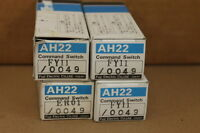 Fuji Ah22-fy11/0049 (lot Of 4) Switches