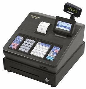 caja registradora negocio SHARP Máquina registradoras comercial ...