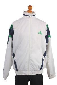 De-Coleccion-Adidas-Casuals-Retro-Shell-Chaqueta-de-pista-Chandal-Top-Talla-XXL-SW1454