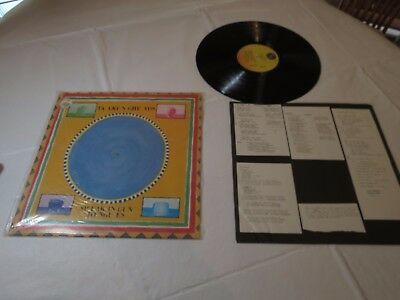 Talking Heads Speaking in tongues burning down the house LP record vinyl album