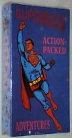 Superman Action Packed Adventures Vhs Max Fleischer Cartoons Animated Ep