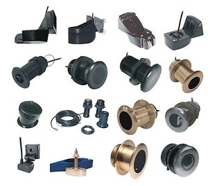 Universal-Simrad-Raymarine-Cetrek-200-50Khz-600w-Bronze-Depth-Transducer