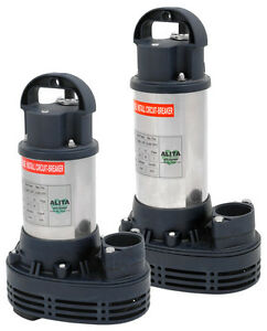 Alita-Pond-amp-Skimmer-water-Pumps-AUP150-AUP250-AUP400-AUP750-Stainless-Steel-NEW
