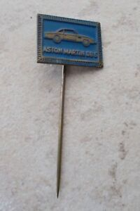 Aston Martin Enameled Lapel Pin 1 1/8x0 9/32in 80er Years ...