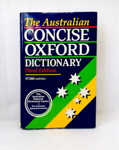 The-Australian-Concise-Oxford-Dictionary-of-Current-English-3rd-edition-used-HB