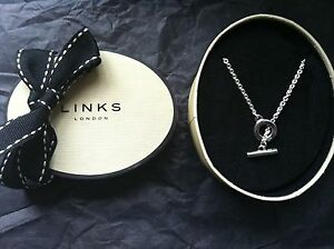 Image Is Loading Genuine Links Of London Sterling Silver 18 Inch