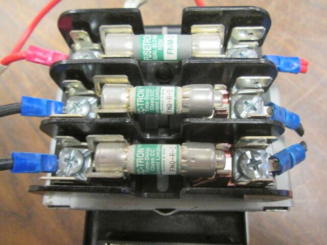 GE Control Transformer 9T58K0085G38 0.15KVA Pri 95//115V Used 208//277//380V Sec