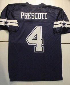 NWT Dak Prescott 4 Dallas Cowboys MESH Printed Jersey MENS Sz M L XL ... 09fb35bbe