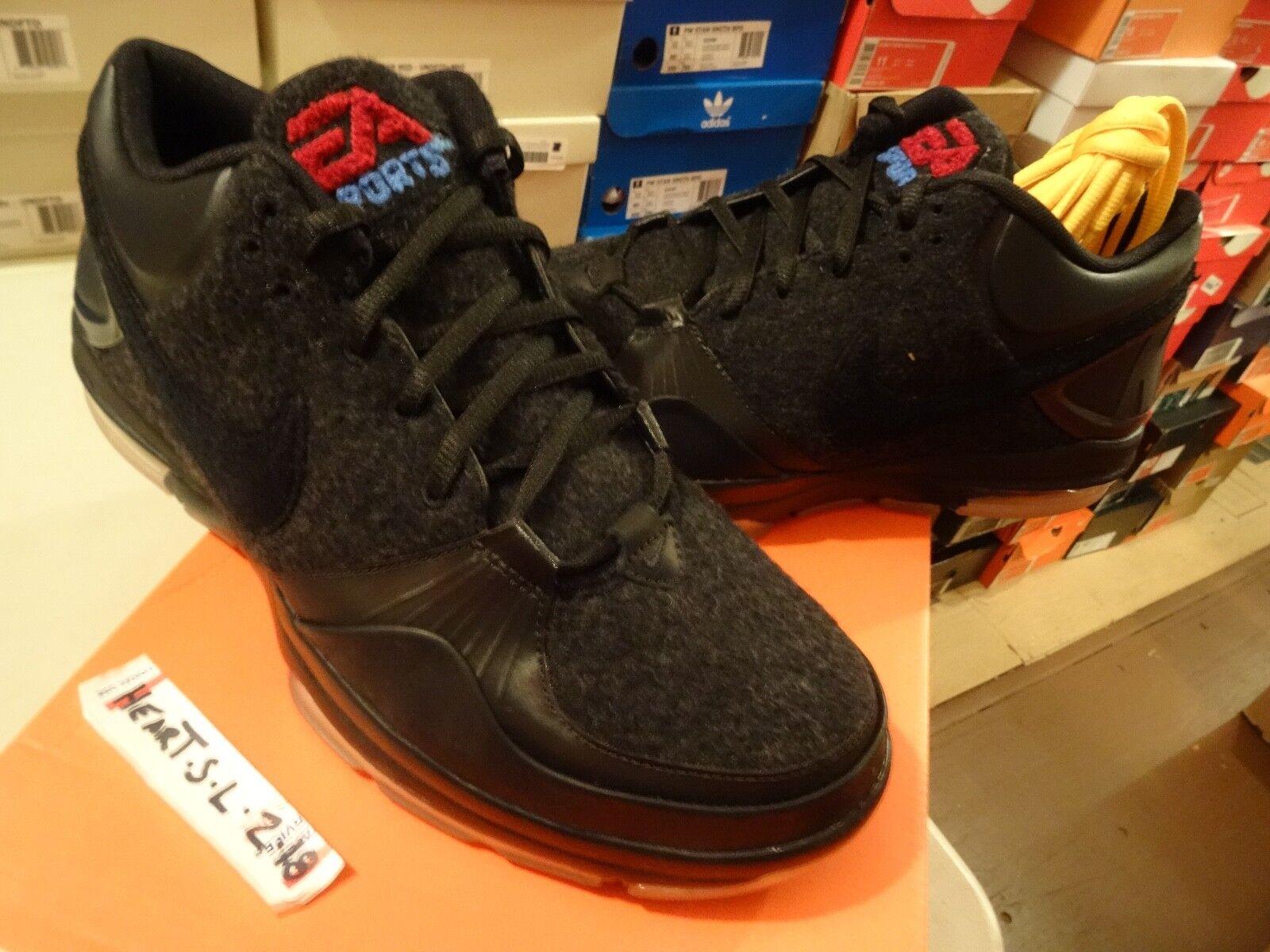 NEW Nike AIR MAX Trainer 1.3 Mid EA Sports Wool Black Letterman 454170 004 SZ 8