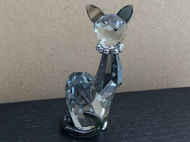 Swarovski figura 995008 House of Cats gato Ines 6 cm. top estado