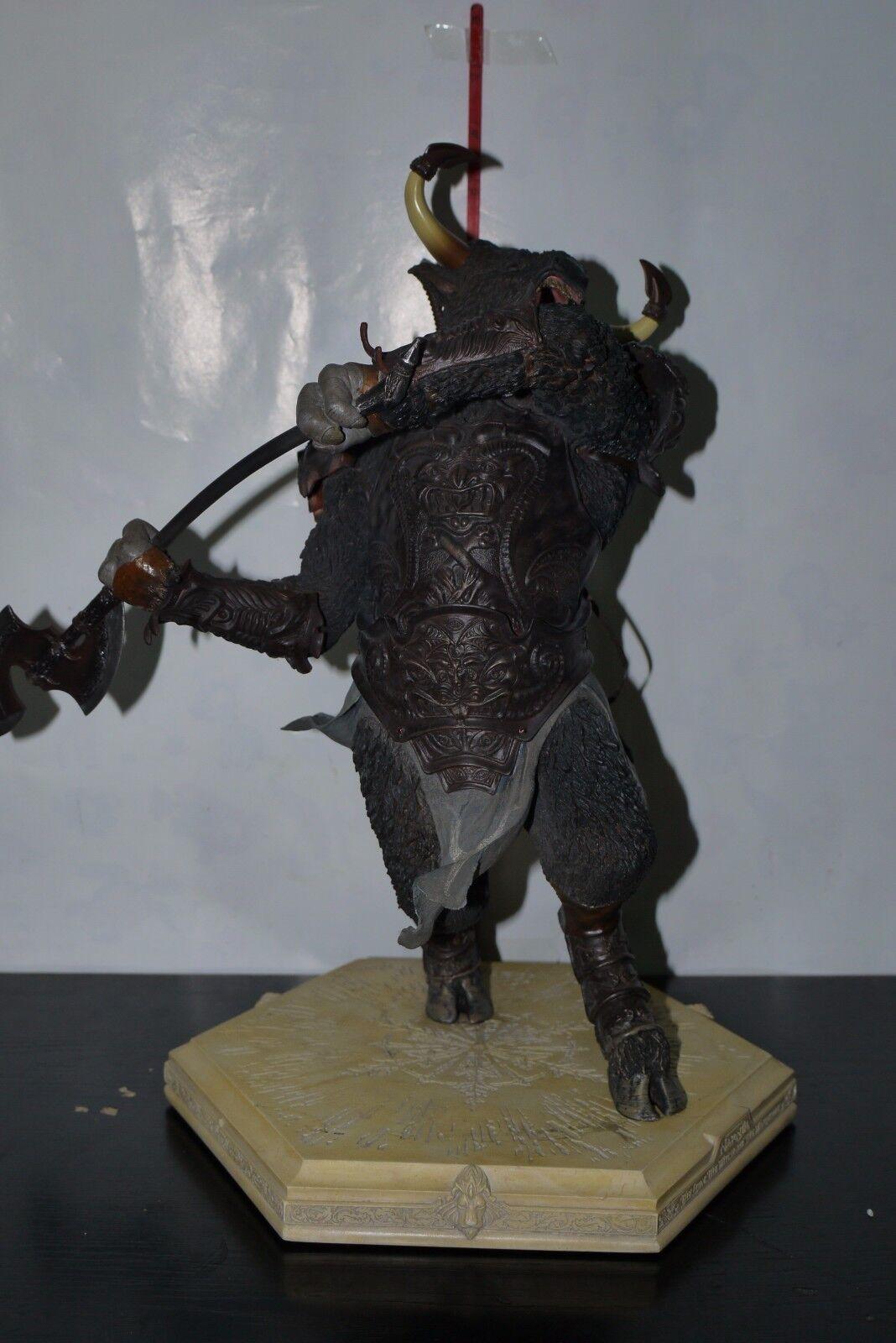 Weta crónicas de Narnia León general otmin estatua 1920 3000 En Caja