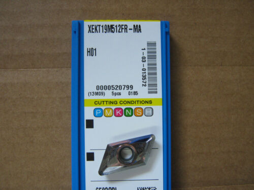 "XEKT-MA Cast//Aluminum Turning Inserts .047/"" rad Korloy XEKT19M512FR-MA H01"