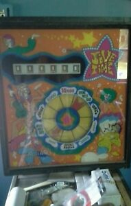Jive-Time-Pinball-Machine-By-Williams-Coin-Op-1970-Rare-flippers-CLASSIC-Jazz