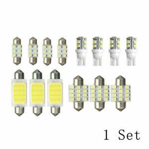 14Pcs-LED-Car-Interior-Inside-Light-Dome-Trunk-Map-License-Plate-Lamp-Bulb-Kits