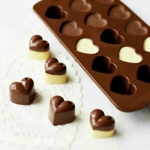 Heart Chocolate Mold Valentine Candy Molds Soap Making Valentines