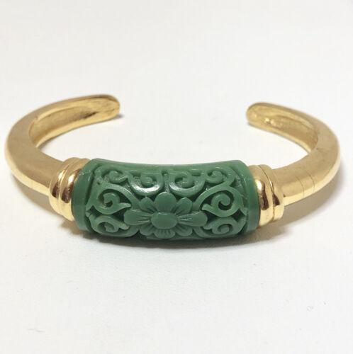 Magnificent Crown Trifari Vintage Scottish THISTLE Rhinestone Cuff Bracelet