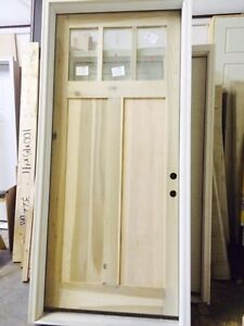 42 x 96 shaker craftsman entry door for 96 inch exterior french doors