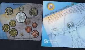 Italie Série Divisionnaire Officiel 2003 (9 Monnaies) Fdc