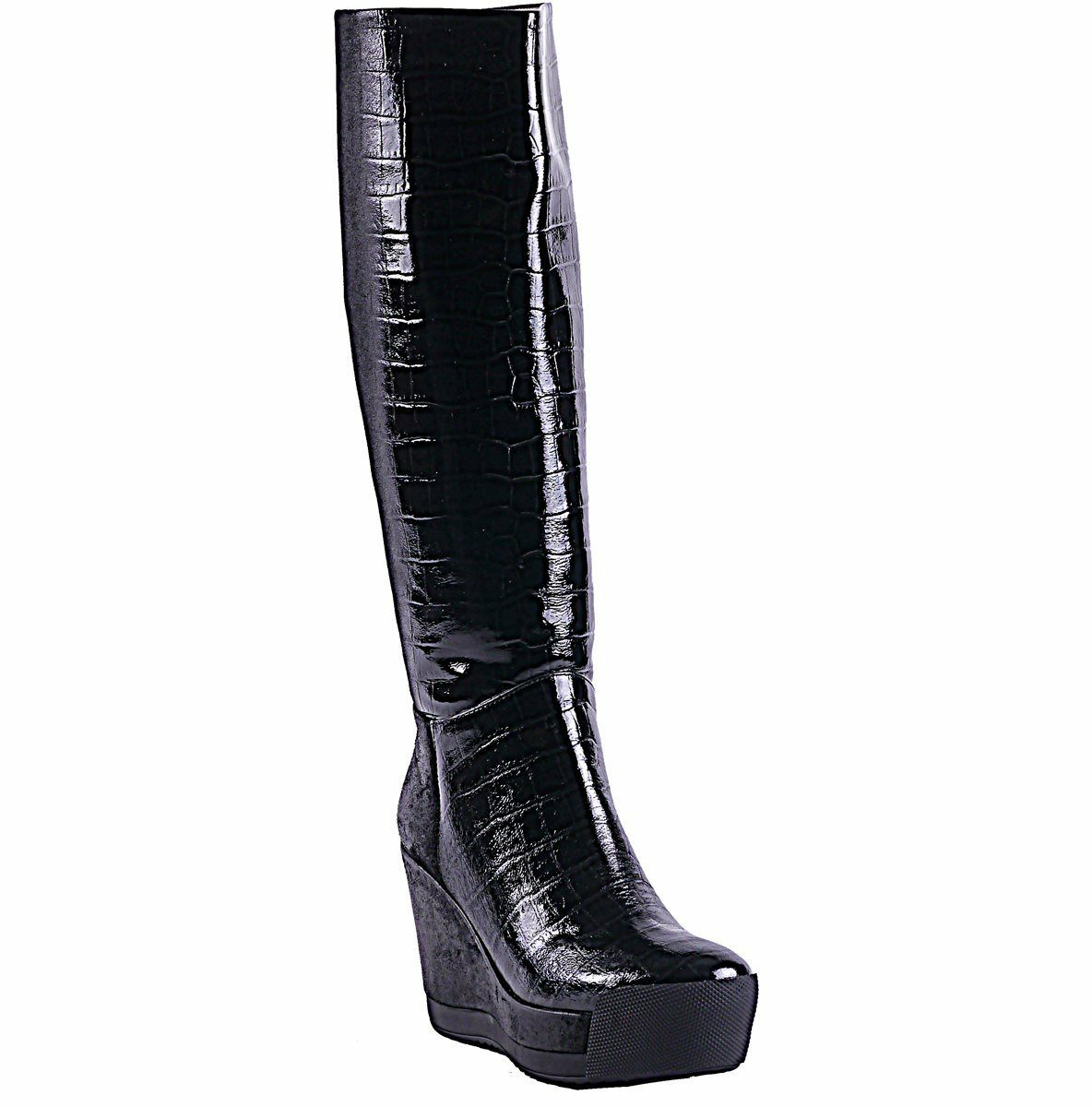 GEOX High designed by Patrick Cox Ziggy Damen High GEOX Stiefel Lack Leder Gr: 40,41 Neu c1be65