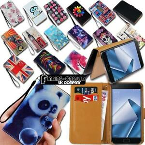 For-Various-Asus-ZenFone-2-3-phones-Leather-Smart-Stand-Wallet-Case-Cover