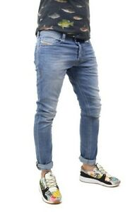 Diesel-Homme-Jeans-tepphar-wash-0842h-Denim-Blue-Bleu-Neuf
