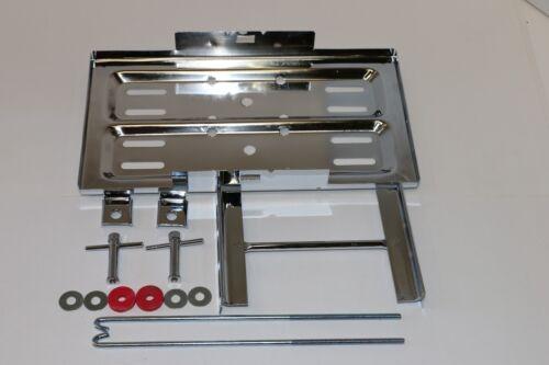 Stainless Steel Universal Battery Tray Holder Hold Down Kit Street Hot Rod Race