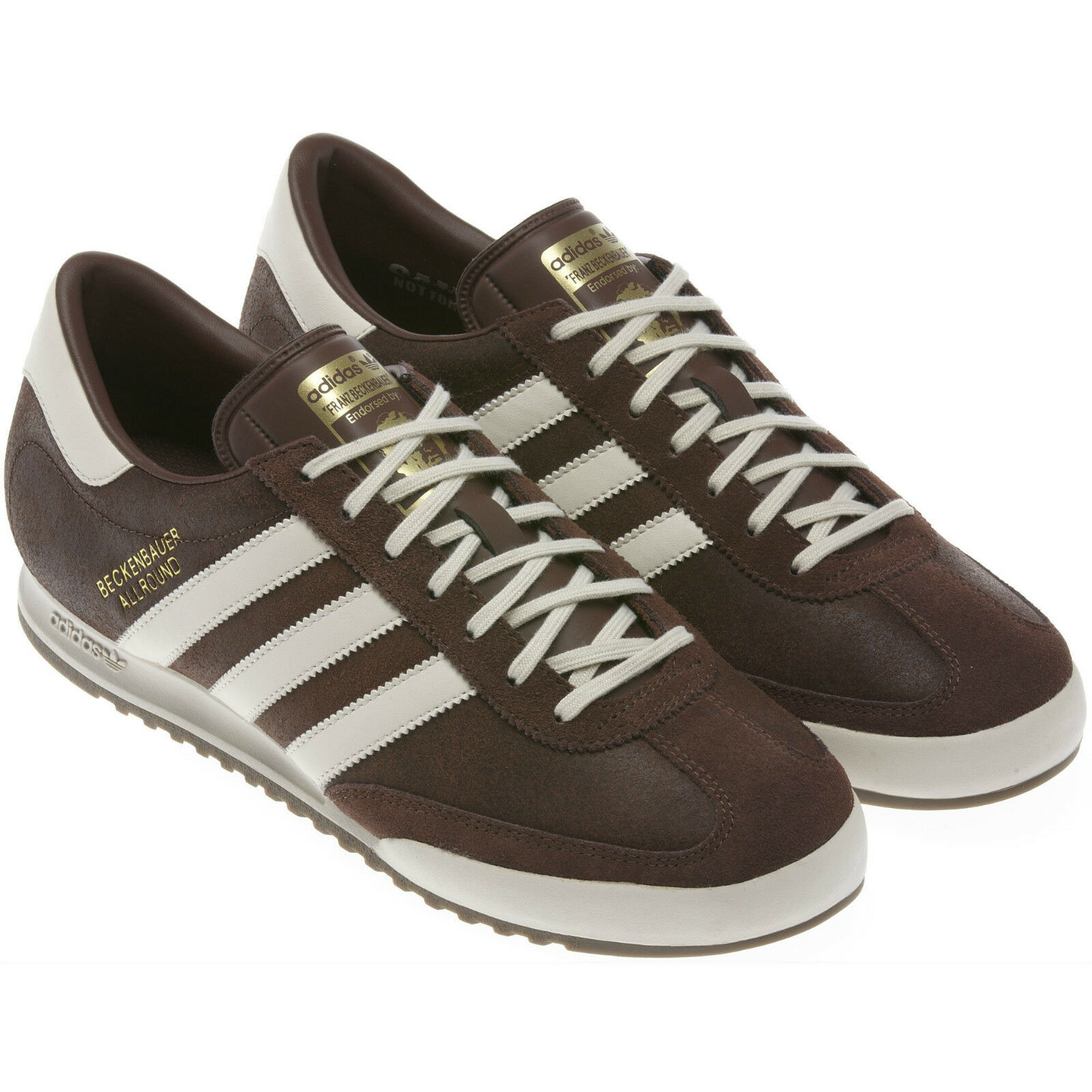 ADIDAS MENS BECKENBAUER ALLROUND SIZE 7 8 9 10 TRAINER SHOES RETRO SMART