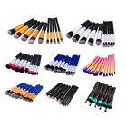 10Pcs Pro Makeup Brushes Set Powder Foundation Eyeshadow Eyeliner Lip Brush Tool