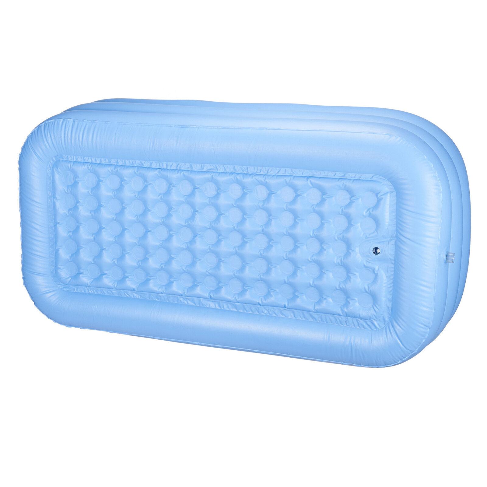 Blow up Adult PVC Folding Portable Foldable Bathtub Inflatable Bath ...