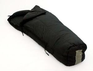 US-Military-Genuine-Issue-Intermediate-Cold-weather-Sleeping-Bag-Black-Used