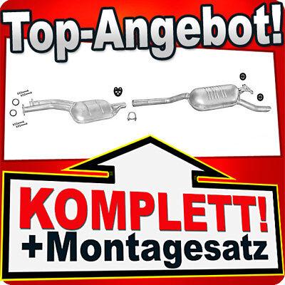 Mittelschalldämpfer Mercedes E200 E220 10.92-05.95 Auspuff