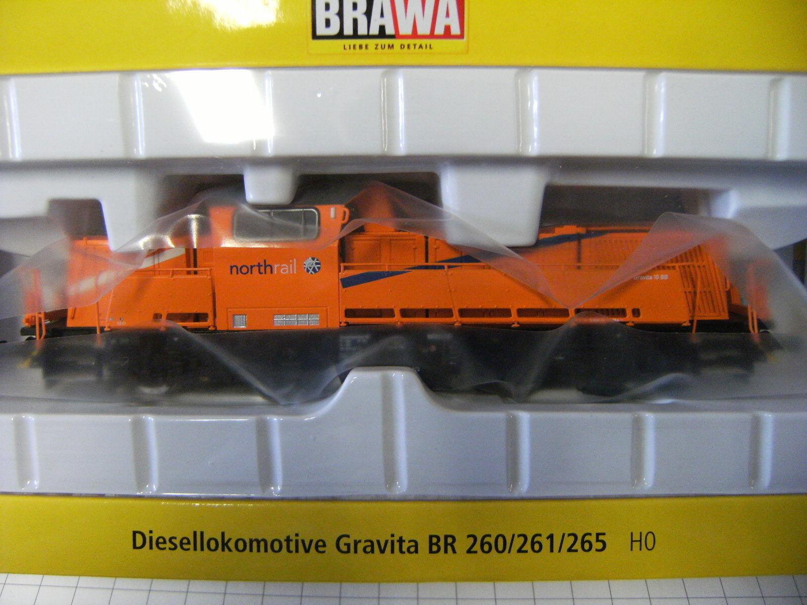 Brawa ho 42763 diesellok gravita 10bb northrail corriente alterna-digital nuevo embalaje original