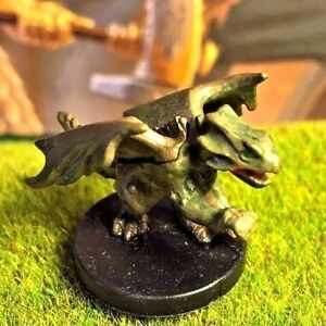 Bronze Wyrmling D&D Miniature Dungeons Dragons pathfinder gold brass WotC druid