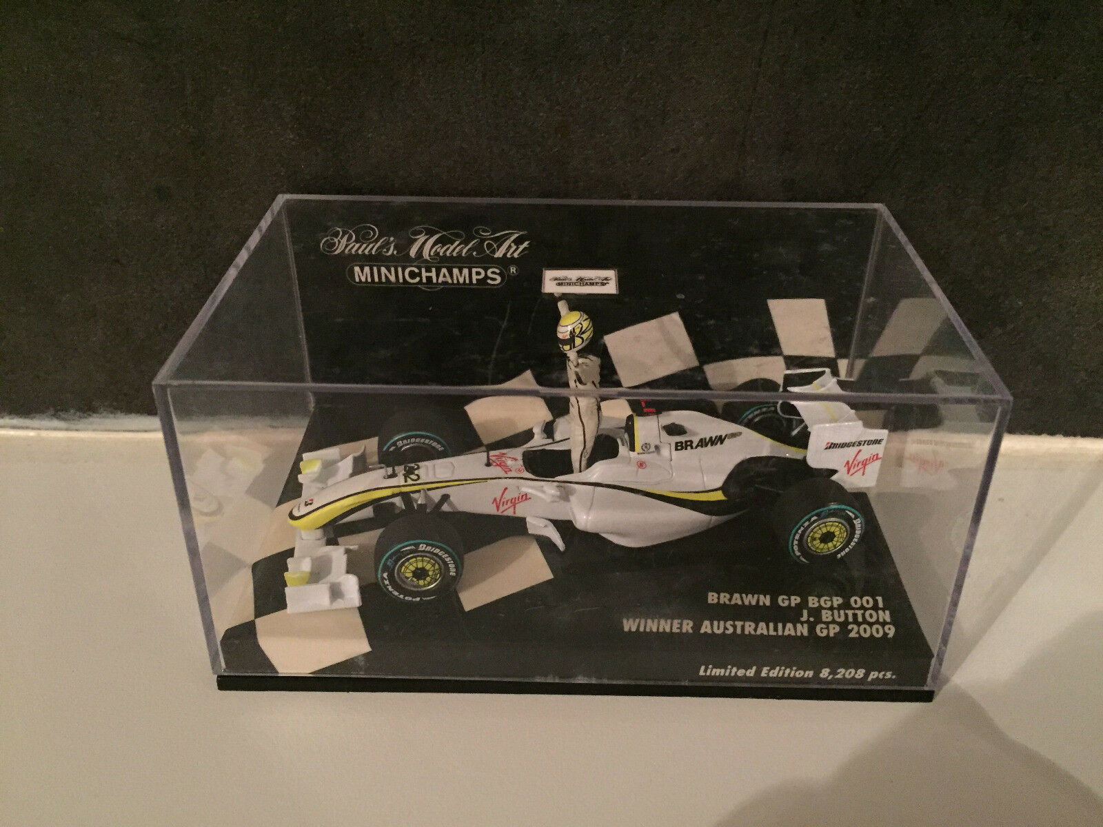 Brawn Mercedes BGP 001 Winner Australie GP 2009 Button Minichamps 1 43
