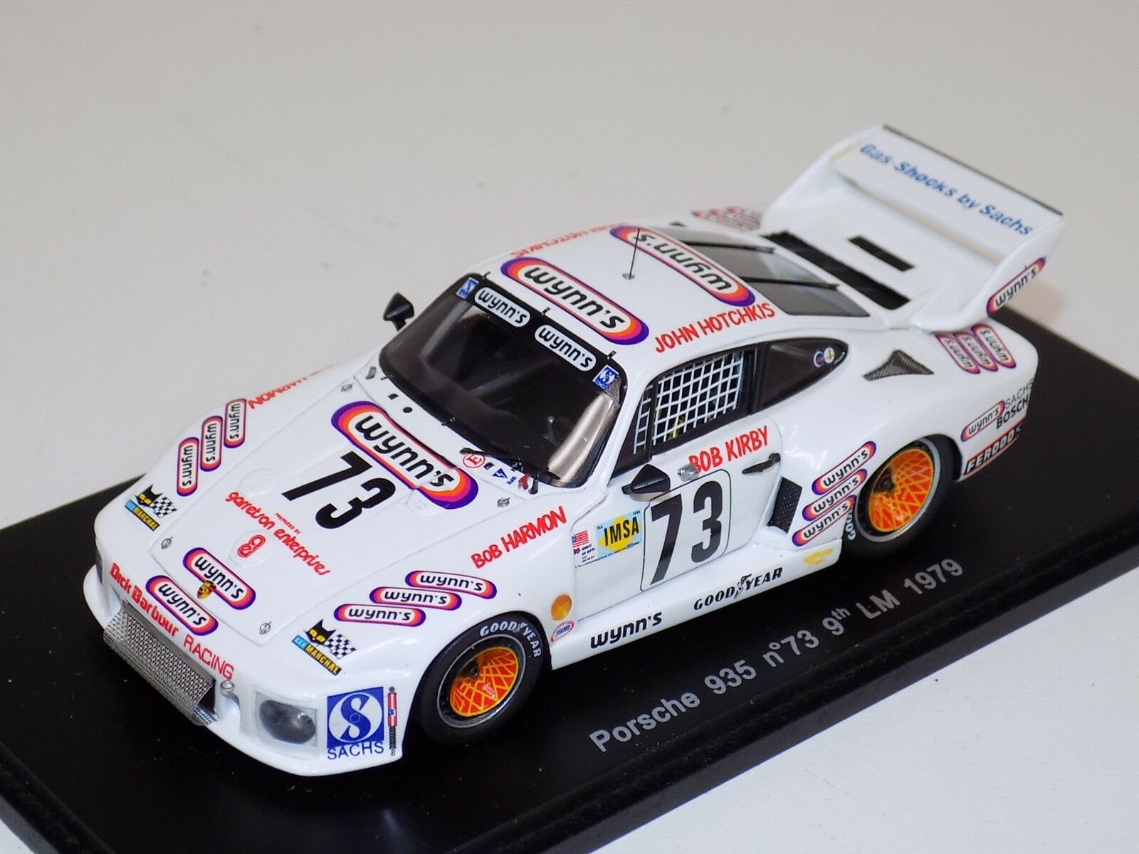 1 43 SPARK PORSCHE 935 voiture  73 9th place en 1979 24 H LeMans S2018