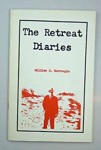 William-S-Burroughs-Ginsberg-The-Retreat-Diaries-1st-Ed-1976-1-2000-Ltd-Ed