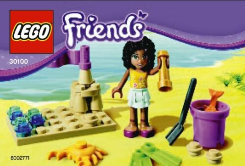 Lego Friends Exklusiv-Set 30100 Andrea am Strand Beach