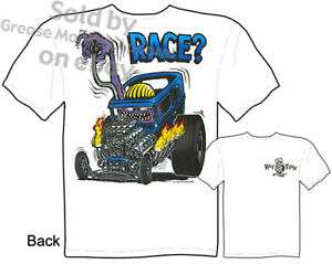 Race-Rat-Fink-T-shirt-Ed-Roth-T-Shirts-Drag-Nut-Tee-Big-Daddy-Sz-M-L-XL-2XL-3XL
