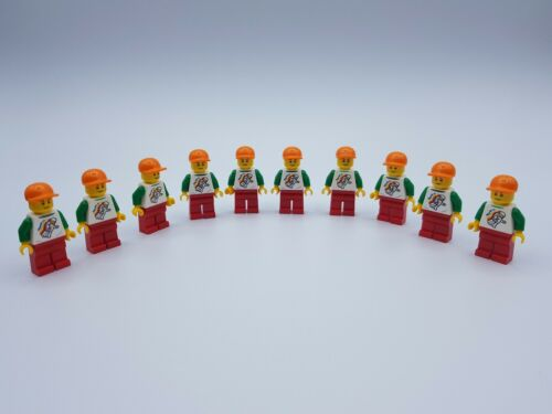 LOT 10 FIGURINES LEGO GARCON  *NEUF*