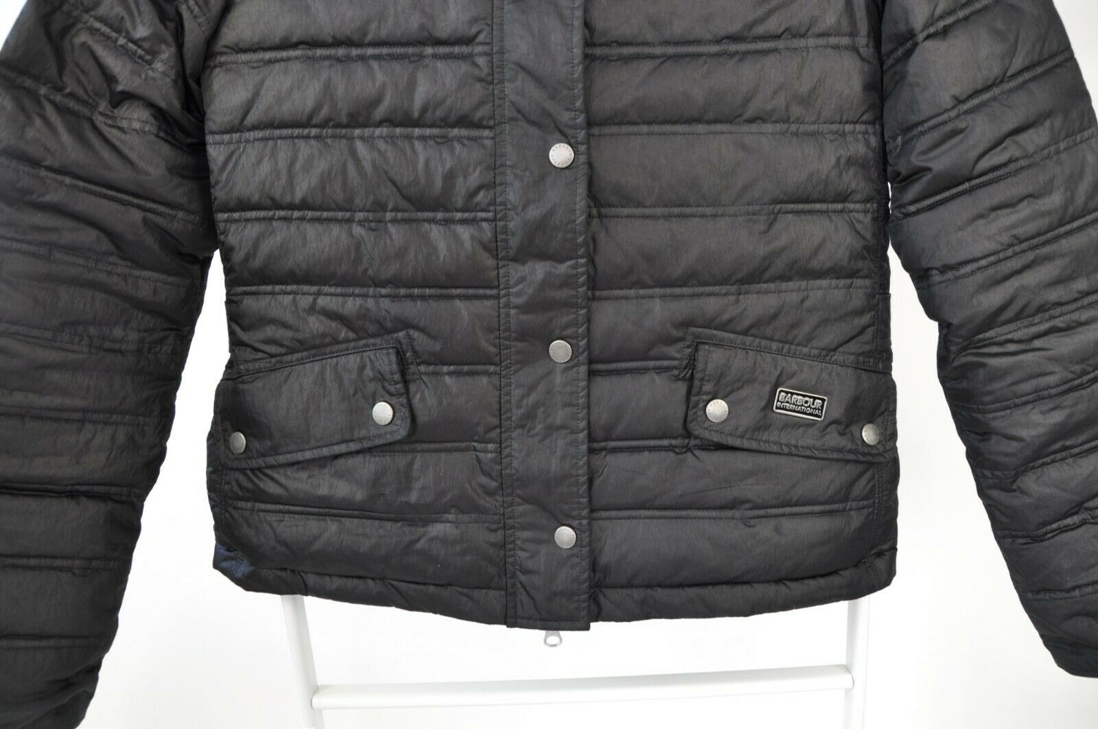 WOMENS BARBOUR INTERNATIONAL 'CROWN' QUILTED PUFF… - image 6