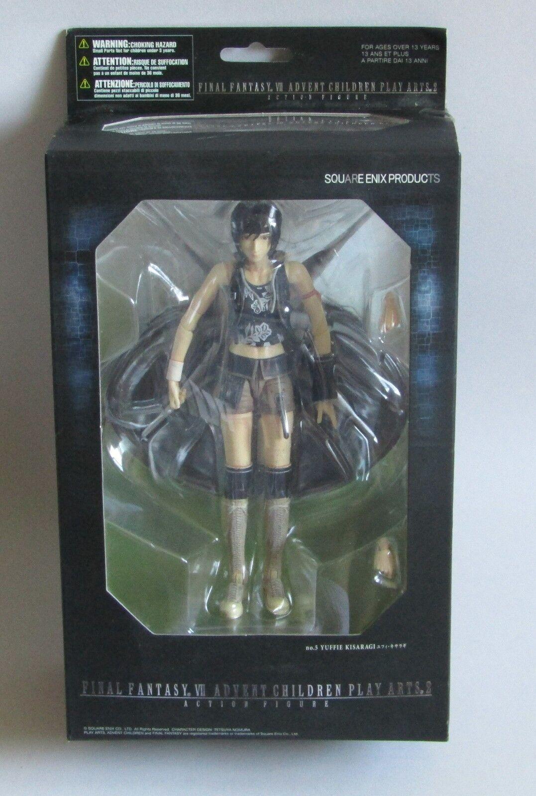 Final Fantasy VII Advent Play Arts 2, Figure Yuffie Kisaragi,  NEUF, Scellé