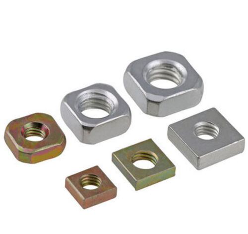 M3 M4 M5 M6 M8 Nut Color Zinc Plated GB39 Carbon steel Square Nuts