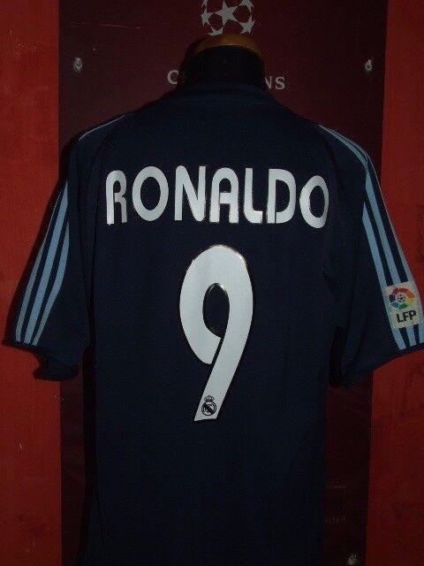 RONALDO RONALDO RONALDO REAL MADRID 2003-2004 MAGLIA SHIRT CALCIO FOOTBALL MAILLOT JERSEY SOCCER 79246b